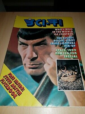 sci-fi monthly-mid 70's issue