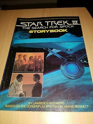 star trek III the search for spock-storybook