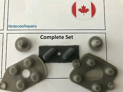 SNES Controller Button Pads! Rubber Replacement Silicone Super Nintendo Repair