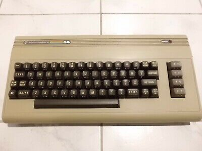 Vintage Commodore C64 Breadbin Computer Tested & Working