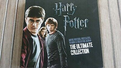 Harry Potter The Ultimate Collection 2011 Complete with Wands, Posters & Cards