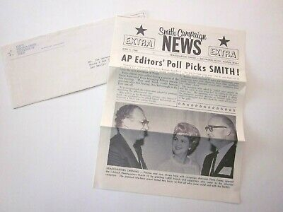 Preston Smith News Headquarters Office 4-2-1967 Elect Governor Collectible