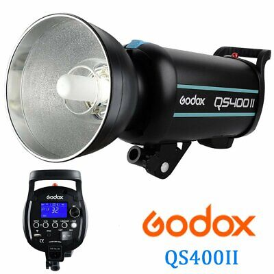 Godox QS400II 400W 2.4G Wireless X System Strobe Flash Light Speedlite Head