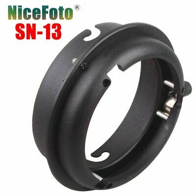 NiceFoto SN-13 Elinchrom Mount to Bowens Mount Adapter Ring For Flash Light