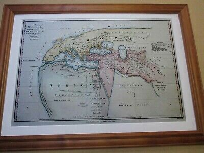 World Map. Herodotus c. 1802