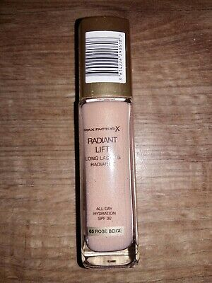 MAX Factor Radiant Lift Long Lasting Radiance Foundation  30ml - 65 rose beige