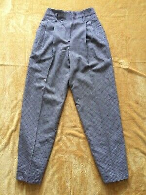 authentic vintage NORMA KAMALI trousers high waist---s