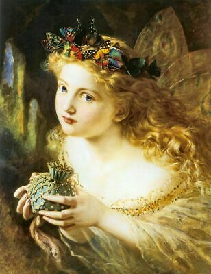 Take The Fair Face Of Woman Sophie Anderson, Fantasy Poster Art Print A4