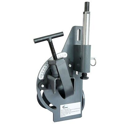 SwitZer Industrial Manual Hole Saw Tube Pipe Notcher Bender Tool 0-60 Degree