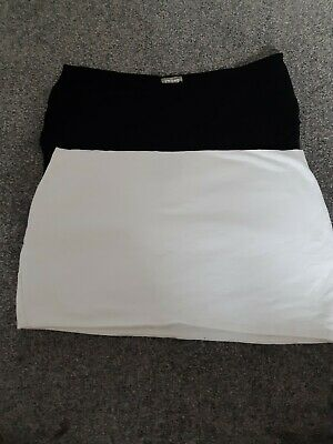 Two Maternity Waist extrnding Bands By Topshop Size S/m