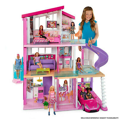 Barbie Dreamhouse with 70+ Accessory Pieces Dream Playset Doll House Girls NEW