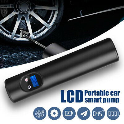 Portable Air Pump Wireless Air Electric Tire Inflator Car Bike Bicycle Auto Car