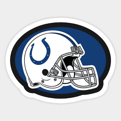 Indianapolis Colts vinyl sticker for skateboard luggage laptop tumblers car c