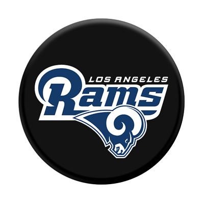 a Los Angeles Rams vinyl sticker for skateboard luggage laptop tumblers car