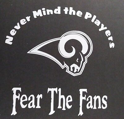 Fear the Fans Packers Vinyl Decal for laptop windows wall car boat