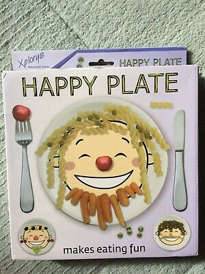 Happy Plate - Toddler's Dinner Plate (in Original Box)