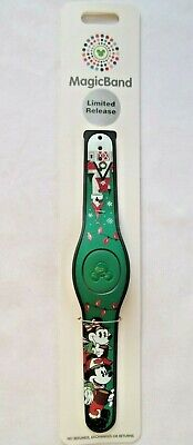 Disney Parks 2019 Limited Release Christmas Magicband 2 Magic Band Green NWT