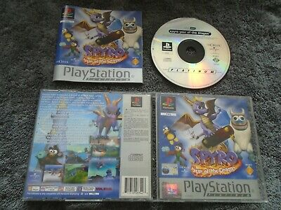 Spyro Year of the Dragon platinum (COMPLETE INC MANUAL) PS1 Sony Playstation