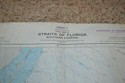 Vintage Nautical Charts Set Of 8