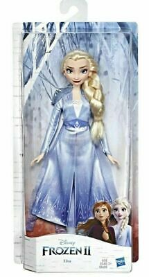 DIsney FROZEN 2 ELSA Doll Figure Blue Ice Movie Outfit  2019 Movie