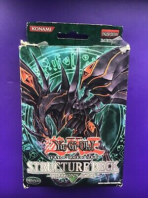 Yu-Gi-Oh! Structure Deck Dragons Roar Complete Set 1st Edition