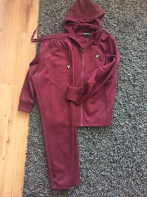 Lyle and Scott Tracksuit - small men's (would fit 14-16 years)