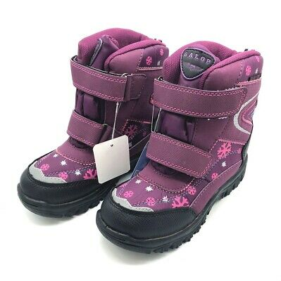 Galop Girls' Warm Snow Boots Purple 60% OFF RRP