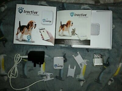 Tractive dog gps tracker, used, full working order.