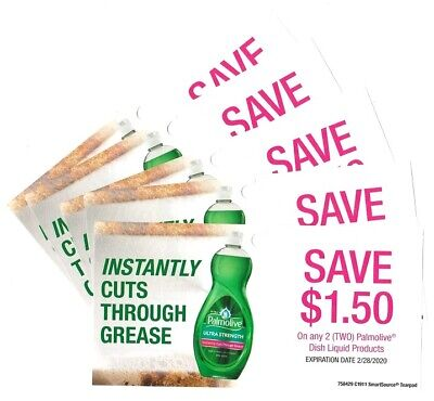 20x Save $1.50 on Palmolive Dish Soap Coupons (Canada)