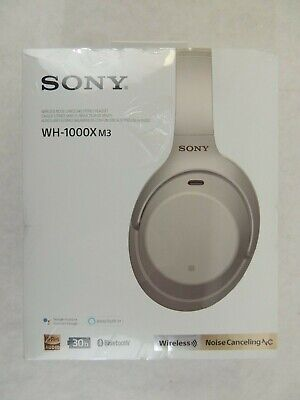 Sony - WH-1000XM3 Wireless Noise Canceling Over-the-Ear Headphones - Silver