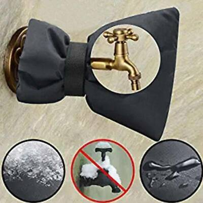 UK Winter Water Tap Protective Freezing Insulated Ice Faucet Cover Taps Outside
