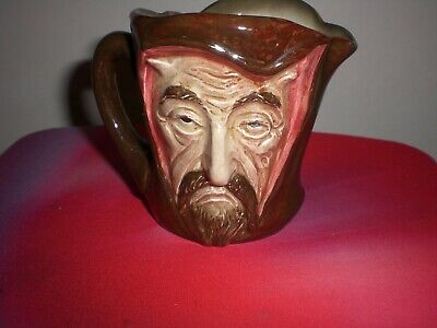 Mephistopheles A Royal Doulton Small Jug With Verse.