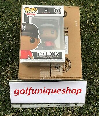 Funko Pop Tiger Woods TW (Red Shirt) Limited Quantities 2019 IN HAND #01
