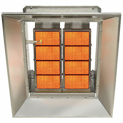 SunStar Natural Gas Heater Infrared Ceramic, 80000 BTU