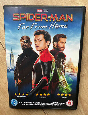 SPIDERMAN FAR FROM HOME - Tom Holland 2019 [DVD] Only Watched Once From New