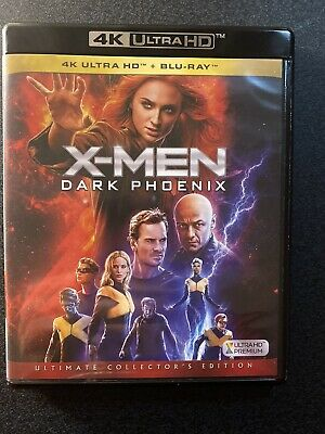 X-MEN DARK PHOENIX Film Blu Ray 4K UHD Ultra Hd  HDR/HDR10+  ITA Perfetto
