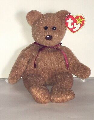 """TY Beanie Baby """"Curly"""" Bear with Multiple Errors!"""