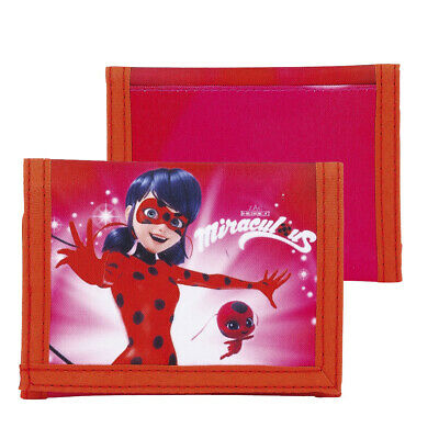 Miraculous Ladybug Marinette Wallet COin Purse Girls OFFICIAL