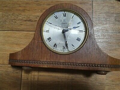 JUNGHANS MANTLE CLOCK **LOOK** 0.99p START