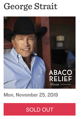1-6 Tickets George Strait Austin 11/25 ACL Live Moody Theater Great Seats!!