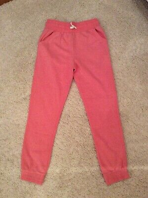 Girls Pink Joggers Jogging Bottoms, Age 10-11 Years