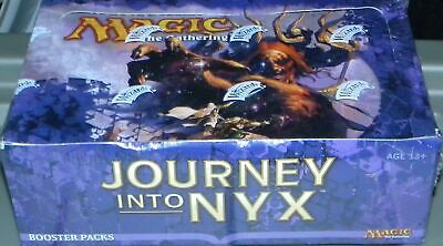 Mtg Journey Into Nyx  Booster Pack Box Factory Sealed Free Shippiing