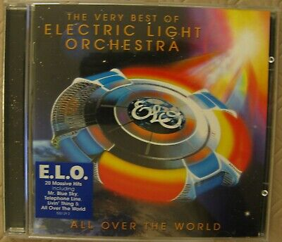 All Over the World: The Very Best of ELECTRIC LIGHT ORCHESTRA CD.
