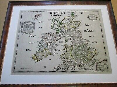 British Isles. 1669. Map