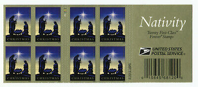 20 Nativity / Holy Family USPS First Class Forever Stamps - Discontinued 1 Book