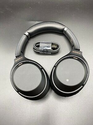 Sony WH-1000XM3 Wireless Noise Cancelling Stereo Headphones Black