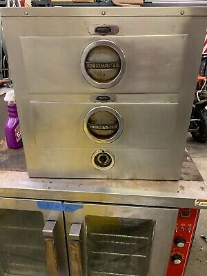 Toastmaster CommercialFood Warmer TwoDrawer Used Tested Works Great