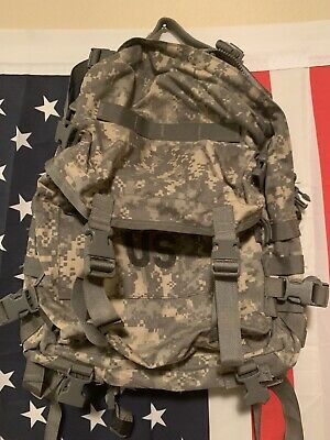 US MILITARY ARMY ACU UCP MOLLE II PATROL ASSAULT PACK 3-DAY BACKPACK Stiffner