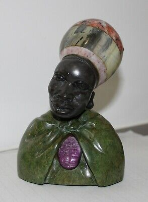 Swazi Lady - African tribal art - perfect condition