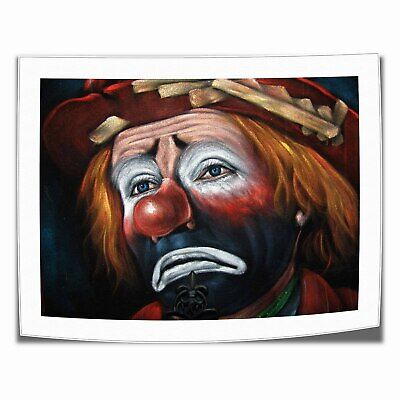 "16""x22""Sad clown poster Painting HD Print Canva Home Decor Room Wall Art Picture"
